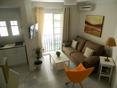 Photo for Apartment Miramar. 30 metres to the beach and 5 min on foot to the city center.