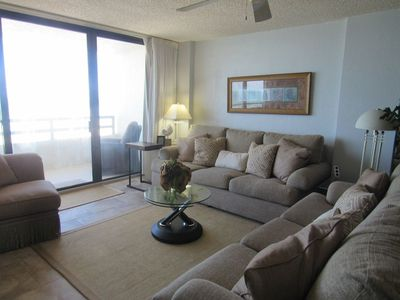 Photo for 505 Seychelles - 2 Bedroom 2 Bath Oceanfront  Condo with great views