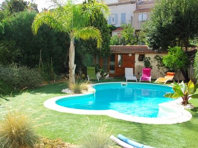Photo for QUIET HOUSE WITH POOL AND BEACHES 500M