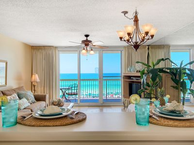 Photo for Destin BEACHFRONT, resort amenities. A TRUE PARADISE, Breathtaking  views.