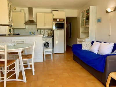 Photo for CHARMING 2 ROOMS FOR 6 PERSONS RESIDENCE WITH SWIMMING POOL 20M FROM THE SEA - CAP D'AGDE - ref:...