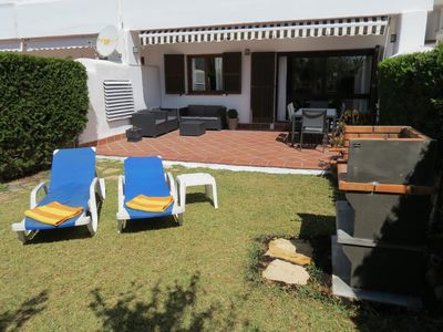 Photo for Cala D'Or Beautiful and modern apartment with private garden, BBQ, swimming pools, beach
