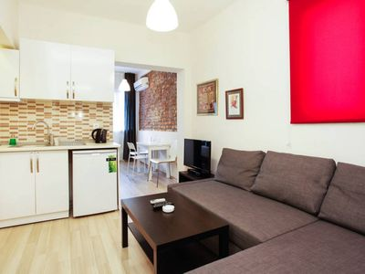 Photo for Lovely Furnished Renovated Flat in Sisli Istanbul. Furnished and Serviced Apartment