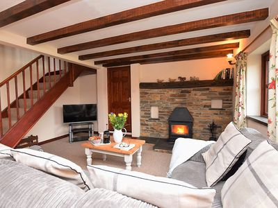 Cosy up in front of a roaring fire after a day of exploring