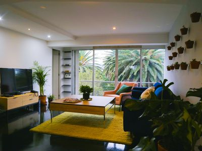 Photo for Beautiful Apt. in the heart of Condesa , anti seismic building, 2 b-2b