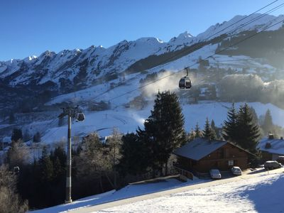 Photo for CHALET WITH OUTSTANDING VIEW ON THE ARAVIS CHANNEL AND VILLAGE CENTER