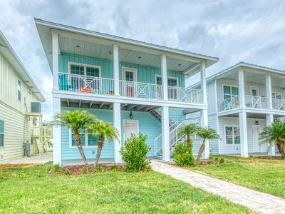 Photo for KEY WEST STYLED BEACH HOUSE! STEPS TO BEACH AND WALK TO JOHN'S PASS!