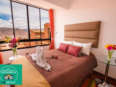 Photo for STUNNING VIEW OF CUSCO APART SUITE