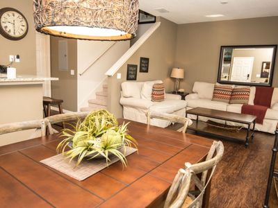Photo for Luxury on a budget - Lucaya Village - Welcome To Spacious 4 Beds 3 Baths Townhome - 3 Miles To Disney