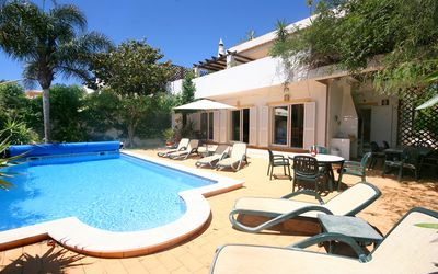 Photo for Lovely 4 Bedroom Villa w/ private pool, terrace with great views, Wifi, A/C, BBQ