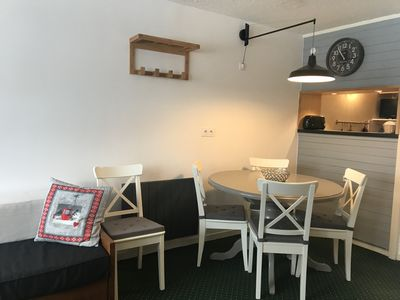 Photo for AVORIAZ, center station, large 2 rooms 6 people, including household