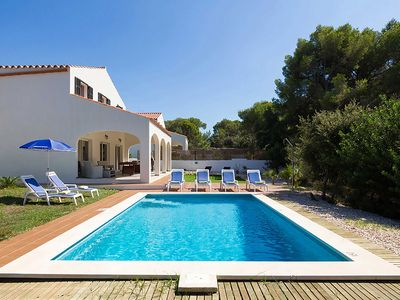 Photo for Villa Son Gaieta - lovely villa in Cala Galdana with private pool, Wi-Fi & A/C