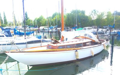 Photo for Wooden sailing yacht in Central Copenhagen