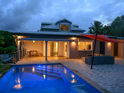 Photo for VILLA CLERC - Sea and Pool View - Convenience -