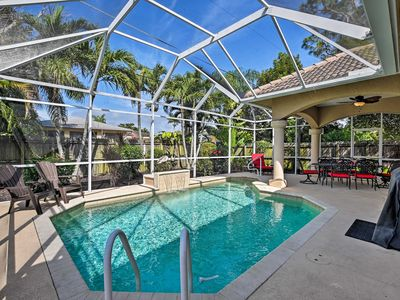 Photo for Naples Home w/ Private Heated Saltwater Pool/Lanai