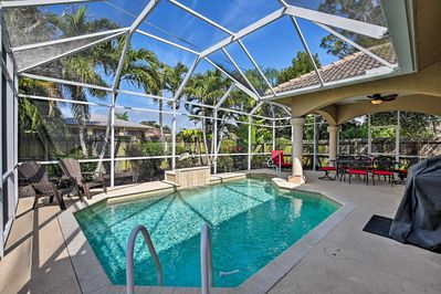 Blue skies and sunshine await at this Naples vacation rental house!