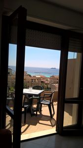 Photo for Romantic apartment total sea view