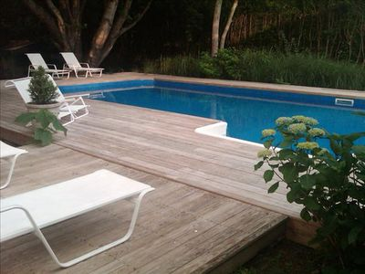 Photo for 6BR Southampton Home Pool Jacuz Coopers beach town Classic