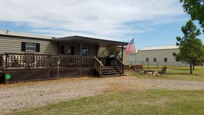 Photo for Pet Friendly Peaceful Lake Texoma Cabin