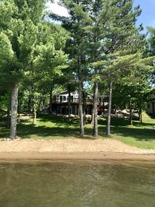 Photo for Summer dates still available! Enjoy a Minnesota Lake Home with Sandy Beach!