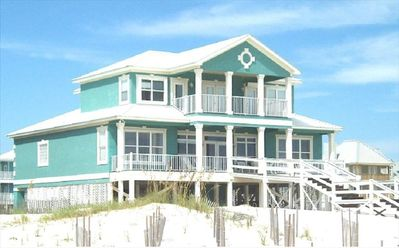 Photo for Beachfront Home - Tennis Courts, Pools, Near Kiva Dunes!