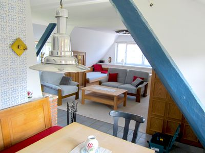 Photo for Thatched roof apartment on the Baltic Sea with roof terrace for 4 people in Falshöft