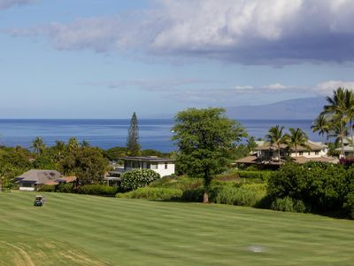Photo for On Wailea Blue Golf Course ⛳️with Ocean View.   🌊
