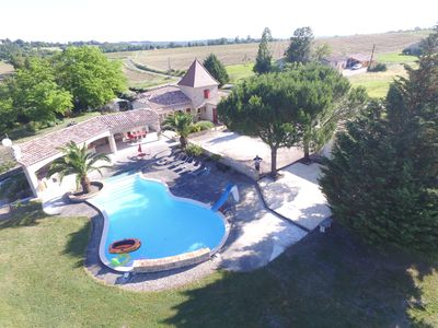 Photo for Pleasant house with swimming pool in the countryside. Golf 6km