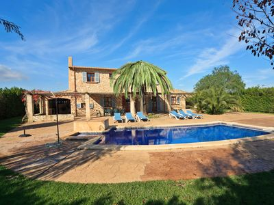 Photo for Villa Can Soler II: Large Private Pool, A/C, WiFi