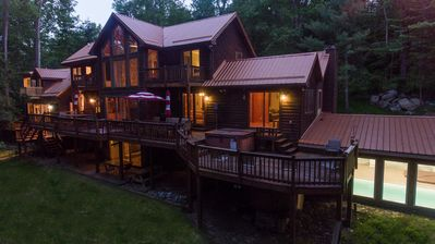 Photo for Copper Canoe- Sprawling Lakefront Home with Indoor Pool!