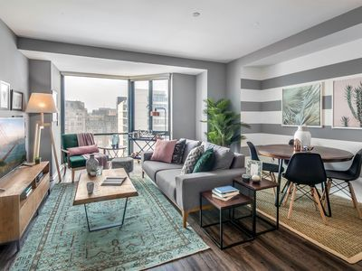 Photo for Modern 1BR in Pacific Heights w/ Doorman + Gym by Blueground