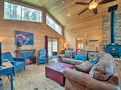Photo for NEW! Private Ruidoso Home in Lincoln Nat'l Forest!