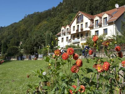 Photo for Double Room - Mountain Side - Bio and Nationalparkhotel Helvetia