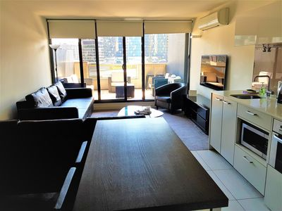 Photo for One bedroom in Neo with city balcony!