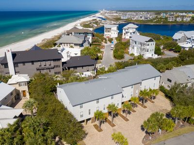 Photo for 7 Palms Townhome Just Steps From A Private Beach And A Rare Coastal Lake