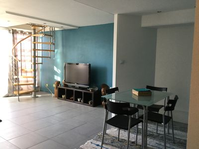 Photo for Beautiful T2 duplex 54m2 very bright and spacious