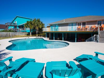 Photo for Gumbo Bungalow: Private Heated Pool w/ Swim-up Bar, Volleyball, Ping Pong