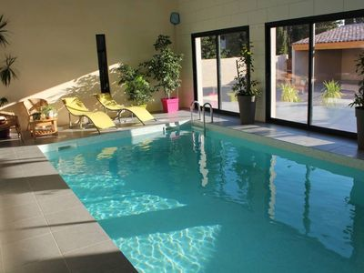 Photo for VILLA 4 * with 2 Indoor and outdoor pools