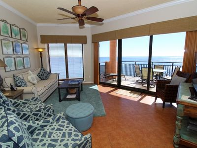 Photo for Seachase 1503W- Beach Front Views from Terrace and Luxurious Interior!