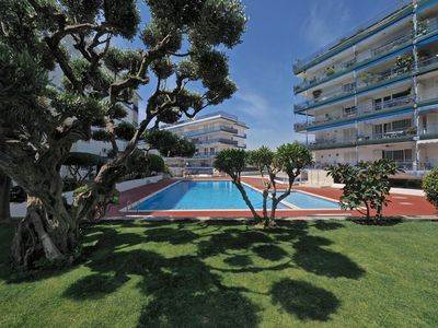 Photo for Spacious Duplex Penthouse & Pool  apartment in Sant Andreu de Llavaneres with WiFi, private parking…
