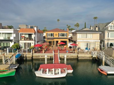 Photo for Relaxing Canal Views on Exclusive Newport Island - Charming Home, Large Patio