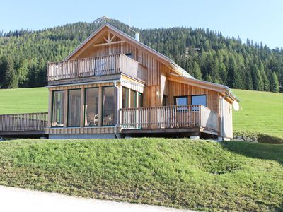 Photo for A new luxury chalet with infrared Sauna, on the Hohentauern Mountain Pass.