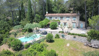 Photo for FAMILY BASTIDE OF CHARACTER WITH PRIVATE SWIMMING POOL IN THE HEART OF PROVENCE VAR