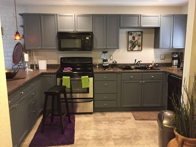 Photo for Gorgeous 1 Bedroom Large Newly Remodeled And Furnished 1 Bedroom Condo w/Pool