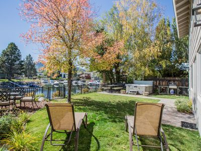 Photo for Waterfront Fun - Private Boat Dock, Hot Tub, Space to Spare