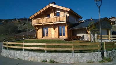 Photo for Real Chalet Individual wood Font Romeu 6 adults + 1 child -10 years