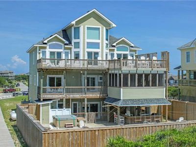 Photo for Smack dab on the ocean, bike around town! Htd Pool&HotTub, Elevator