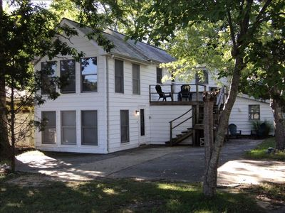 Photo for Cozy Rehoboth Beach Flat with Deck in Town of Rehoboth Beach