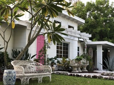 Photo for NEW Downtown Naples Bungalow- Walking Distance to Everything- The Boho Flamingo