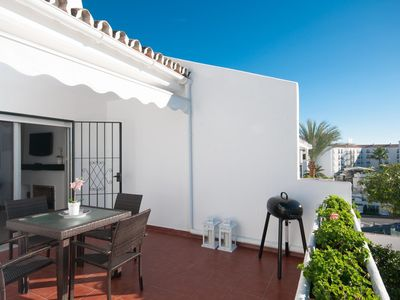 Photo for Beautiful Apartment for 4 persons in great complex with pool near Puerto Banus.